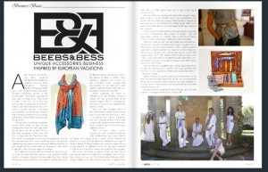 WS Arts Magazine Article Beebs & Bess