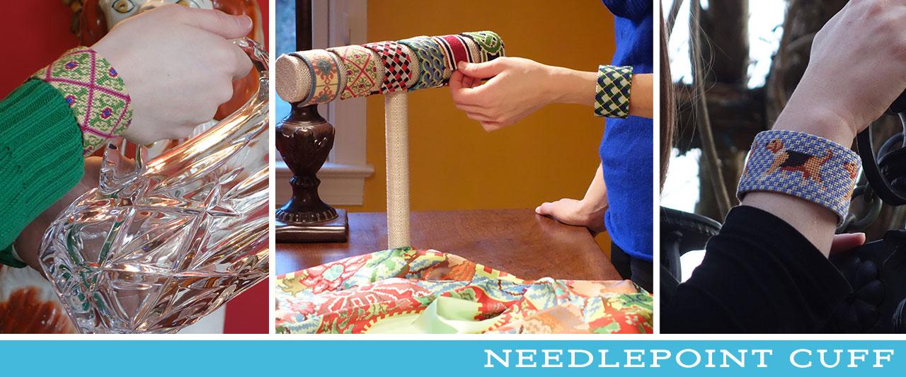 Needlepoint-Cuff